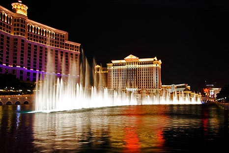 The Bellagio Fountains In Oklahoma City NV